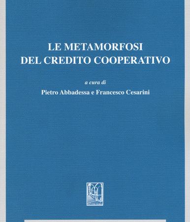 Le metamorfosi del credito cooperativo