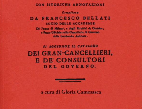 Serie de' governatori di Milano dall'anno 1535 al 1776 con istoriche annotazioni