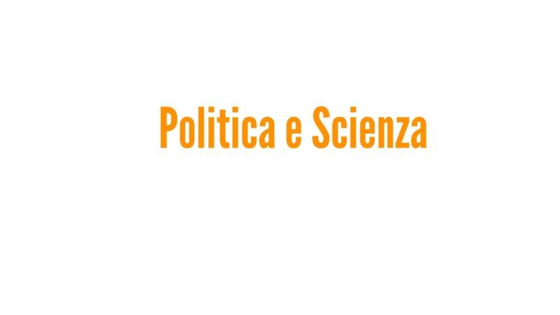 Politica e Scienza