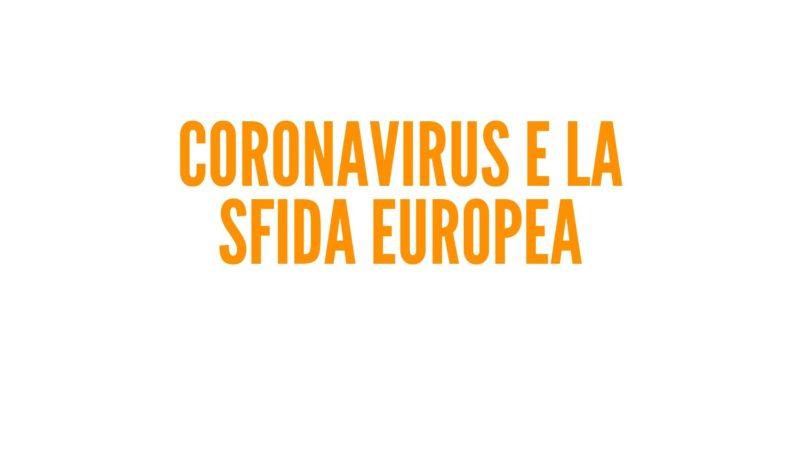Coronavirus e la sfida europea