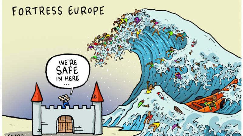 Le migrazioni e la fortezza Europa