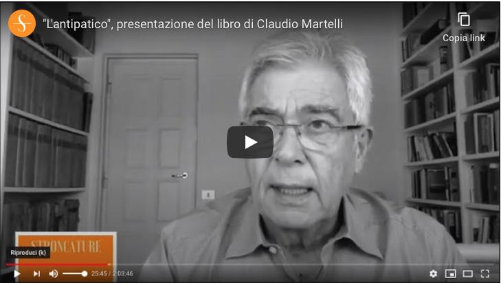 """""""L'antipatico"""" di Claudio Martelli"""