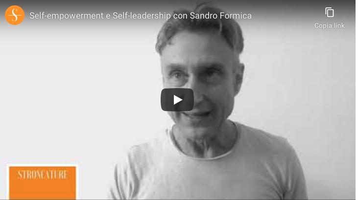 Self-empowerment e Self-leadership con Sandro Formica