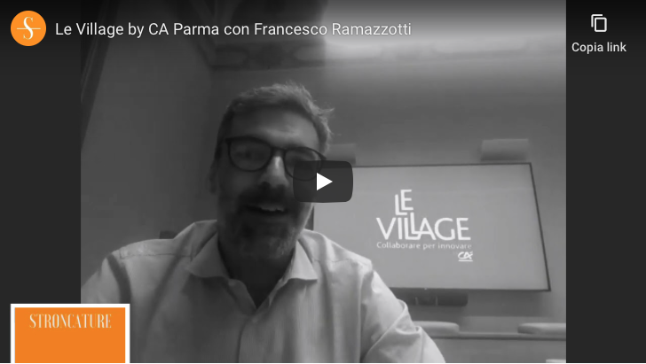 Le Village by CA Parma con Francesco Ramazzotti