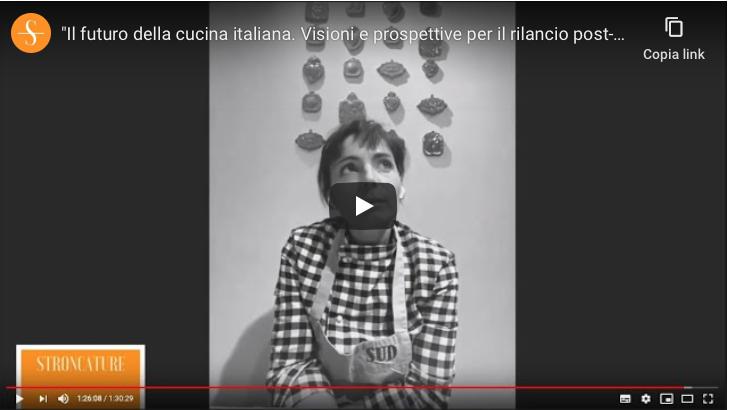 """""""Il futuro della cucina italiana. Visioni e prospettive per il rilancio post-Covid"""""""