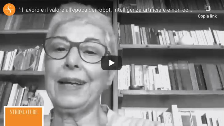 """""""Il lavoro e il valore all'epoca dei robot. Intelligenza artificiale e non-occupazione"""""""