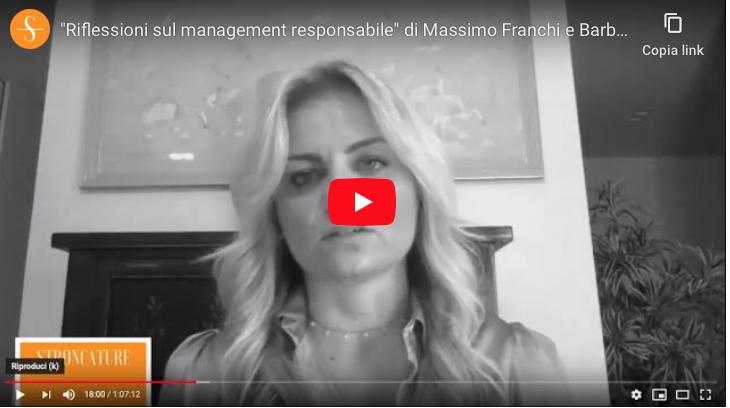 """Riflessioni sul management responsabile"" di Massimo Franchi e Barbara Rainieri"
