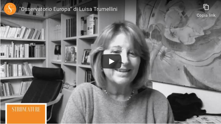 """Osservatorio Europa"" con Luisa Trumellini"