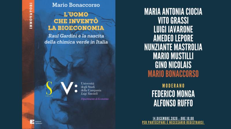 """""""L'uomo che inventò la bioeconomia"""" di Mario Bonaccorso"""