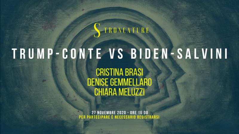 Trump-Conte vs Biden-Salvini