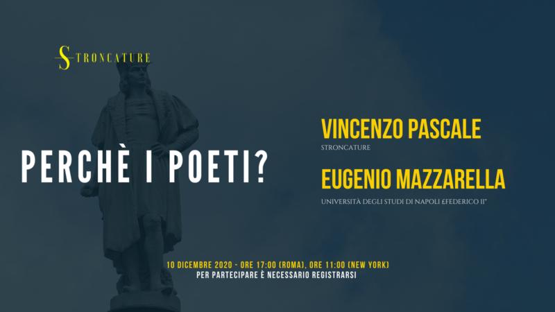 """""""Perchè i poeti?"""" con Eugenio Mazzarella"""