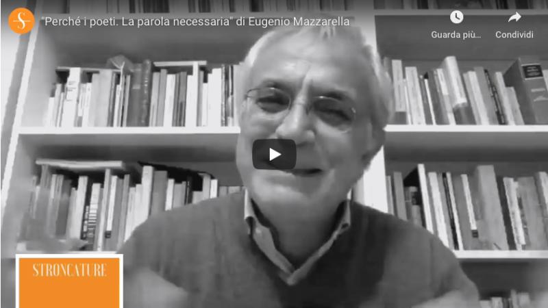 """""""Perché i poeti?"""" di Eugenio Mazzarella"""
