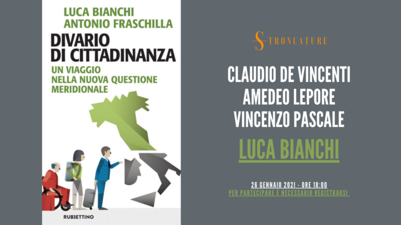 """""""Divario di cittadinanza"""" di Luca Bianchi e Antonio Fraschilla"""