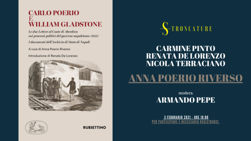 """Carlo Poerio e William Gladstone"" di Anna Poerio Riverso"