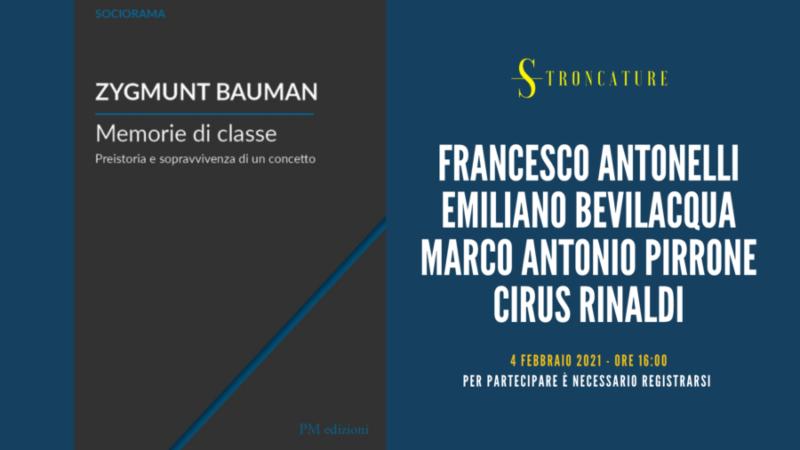 Memorie di classe di Zygmunt Bauman
