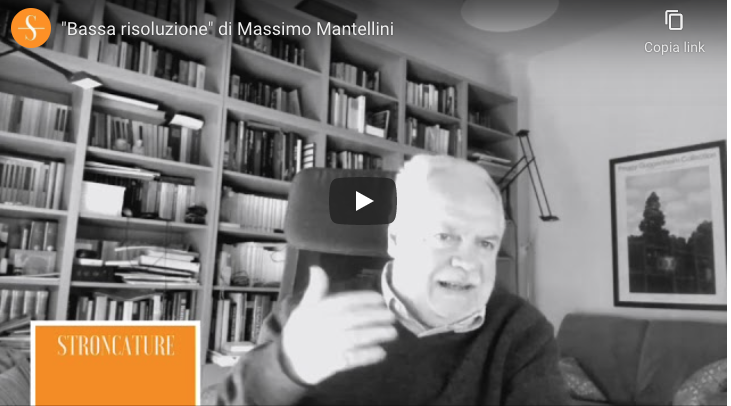 """""""Bassa risoluzione"""" di Massimo Mantellini"""