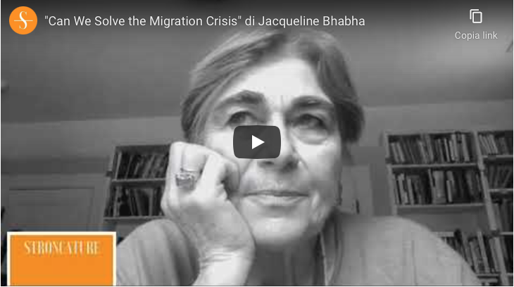 """Can We Solve the Migration Crisis"" di Jacqueline Bhabha"