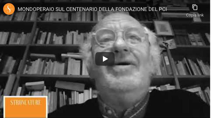 Mondoperaio sul centenario della fondazione del PCI