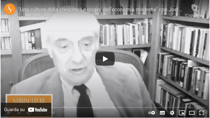 """""""Una cultura della crescita. Le origini dell'economia moderna"""" con Joel Mokyr"""