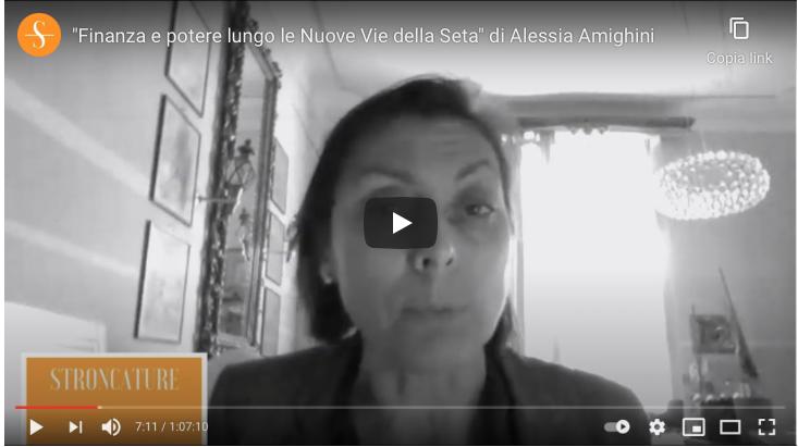 """""""Finanza e potere lungo le Nuove Vie della Seta"""" di Alessia Amighini"""