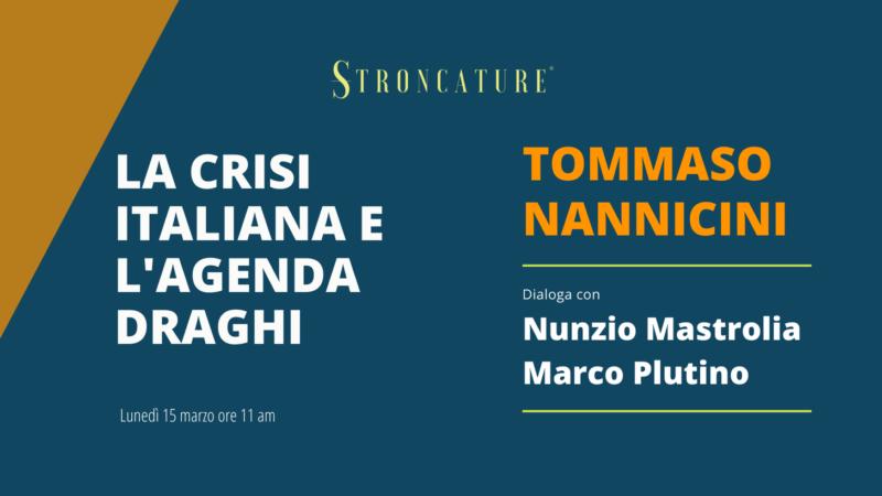 La crisi italiana e l'agenda Draghi