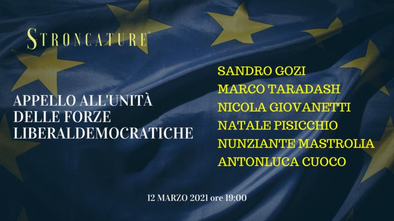 Appello all'unità delle forze liberali e democratiche italiane