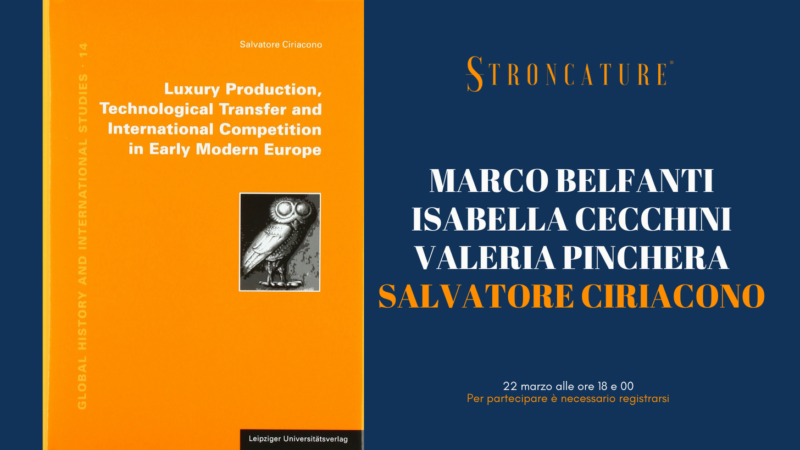 """Luxury Production, Technological Transfer and International Competition in Early Modern Europe"" di Salvatore Ciriacono"