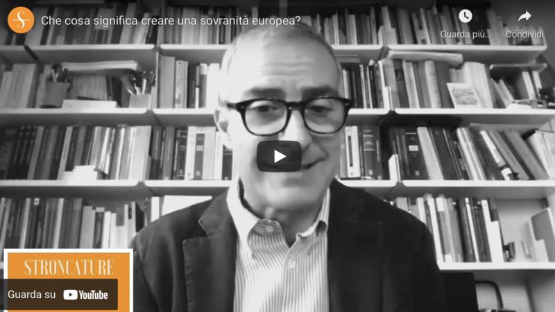 Che cosa significa creare una sovranità europea?