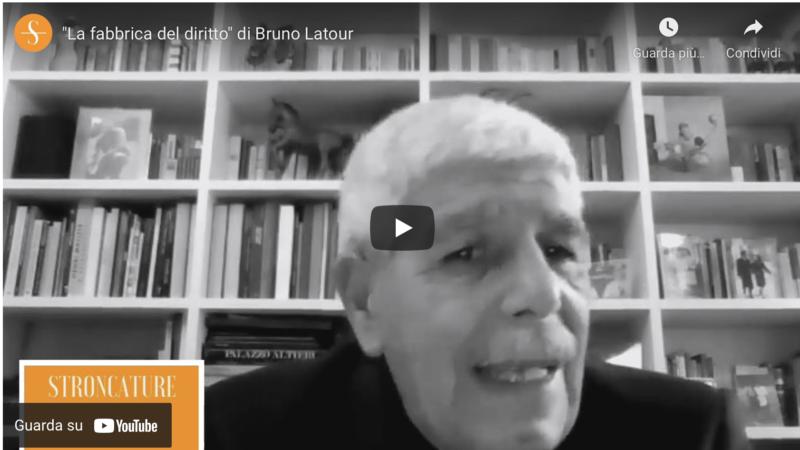 """""""La fabbrica del diritto"""" di Bruno Latour"""