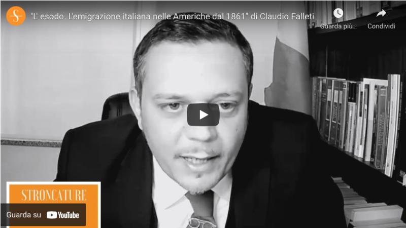 """""""L' esodo. L'emigrazione italiana nelle Americhe dal 1861"""" di Claudio Falleti"""