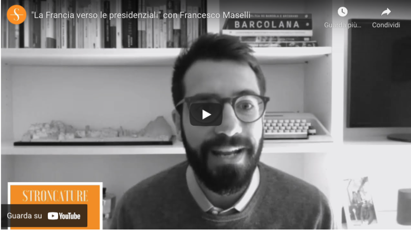 """""""La Francia verso le presidenziali"""" con Francesco Maselli"""