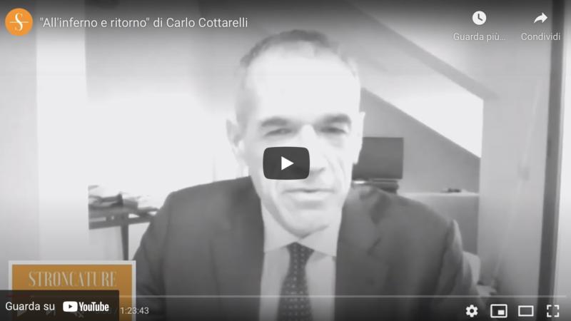 """""""All'inferno e ritorno"""" di Carlo Cottarelli"""