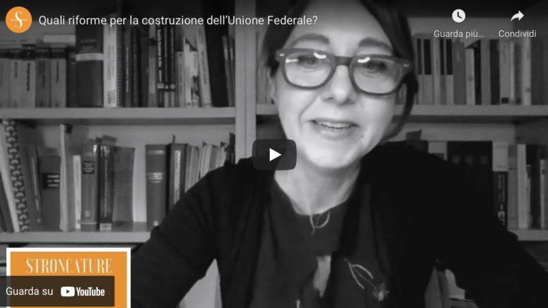 Quali riforme per la costruzione dell'Unione Federale?