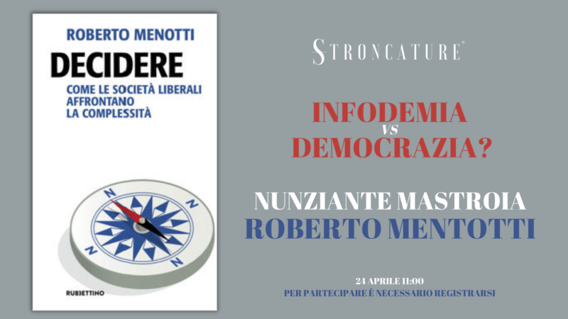 """""""DECIDERE"""" DI ROBERTO MENOTTI"""