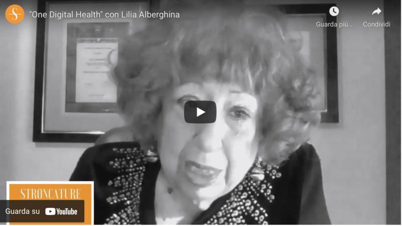 """""""One Digital Health"""" con Lilia Alberghina"""
