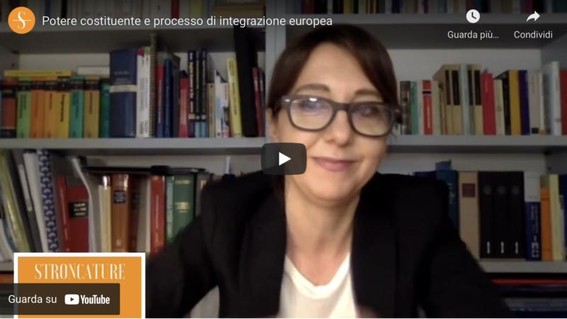 Potere costituente e processo di integrazione europea