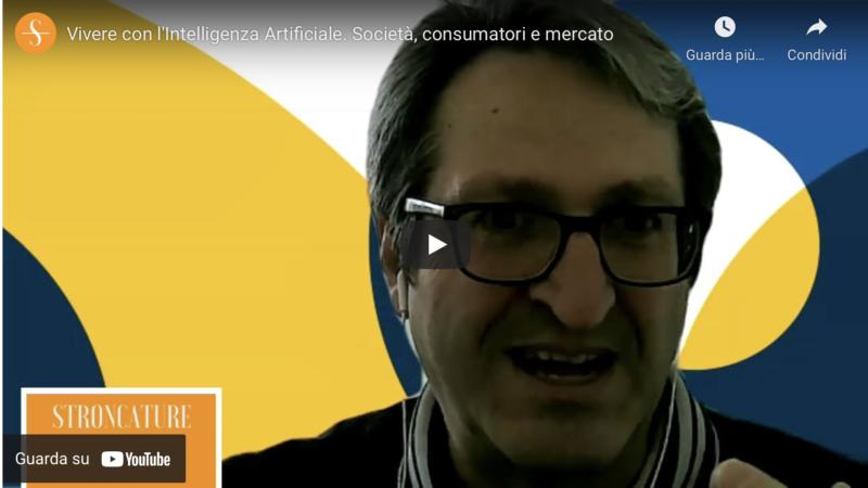 Vivere con l'Intelligenza Artificiale. Società, consumatori e mercato