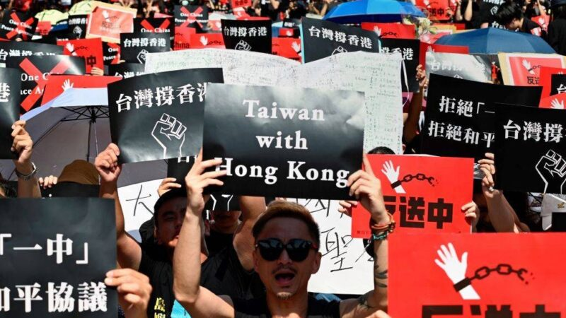 La Cina che soffoca Hong Kong