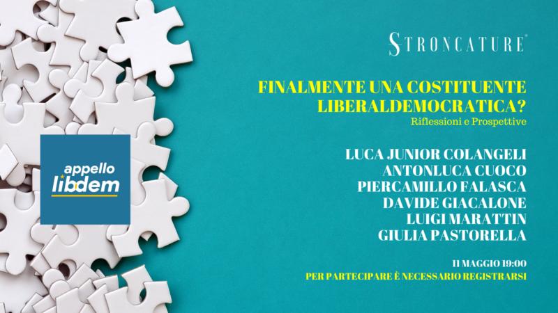 Finalmente una costituente liberaldemocratica?