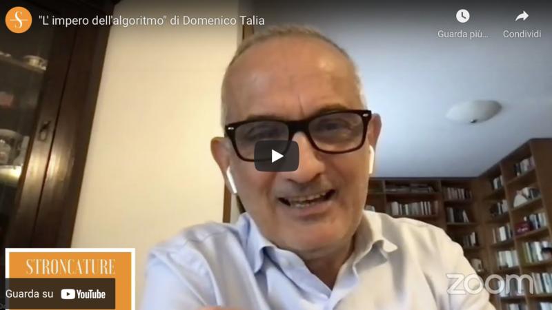 """""""L' impero dell'algoritmo"""" di Domenico Talia"""
