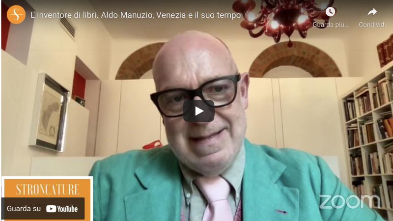 L' inventore di libri. Aldo Manuzio, Venezia e il suo tempo