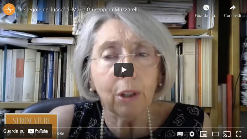 """""""Le regole del lusso"""" di Maria Giuseppina Muzzarelli"""