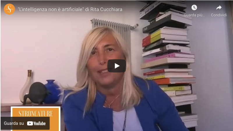 """L'intelligenza non è artificiale"" di Rita Cucchiara"