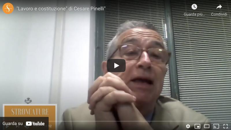 """""""Lavoro e costituzione"""" di Cesare Pinelli"""""""